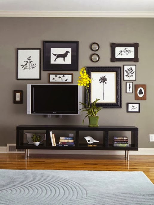 ideas to seamlessly integrate your tv into your living room