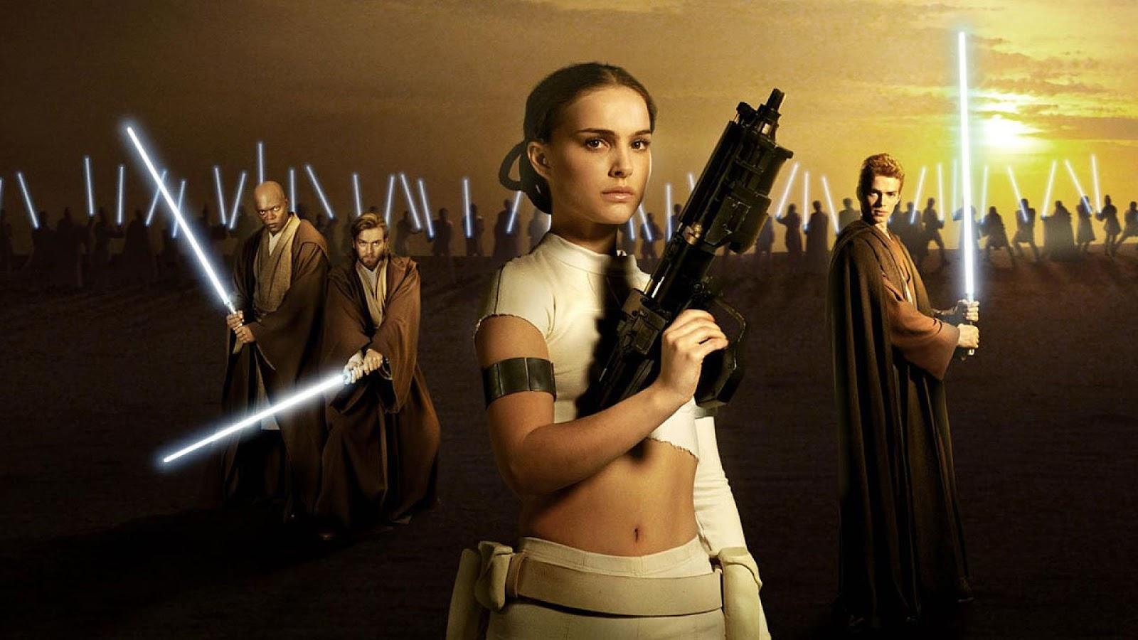 Star Wars Natalie Portman Wallpaper