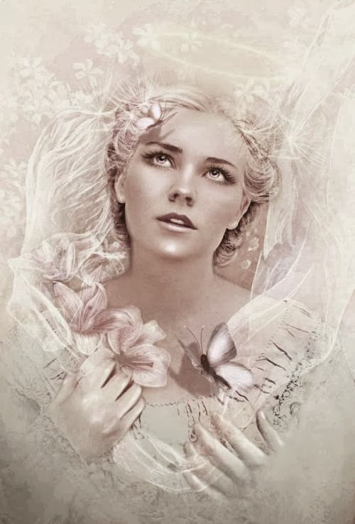 Lilia Osipova deviantart manipulação digital photoshop ilustrações fantasia surreal psicodelia Pureza