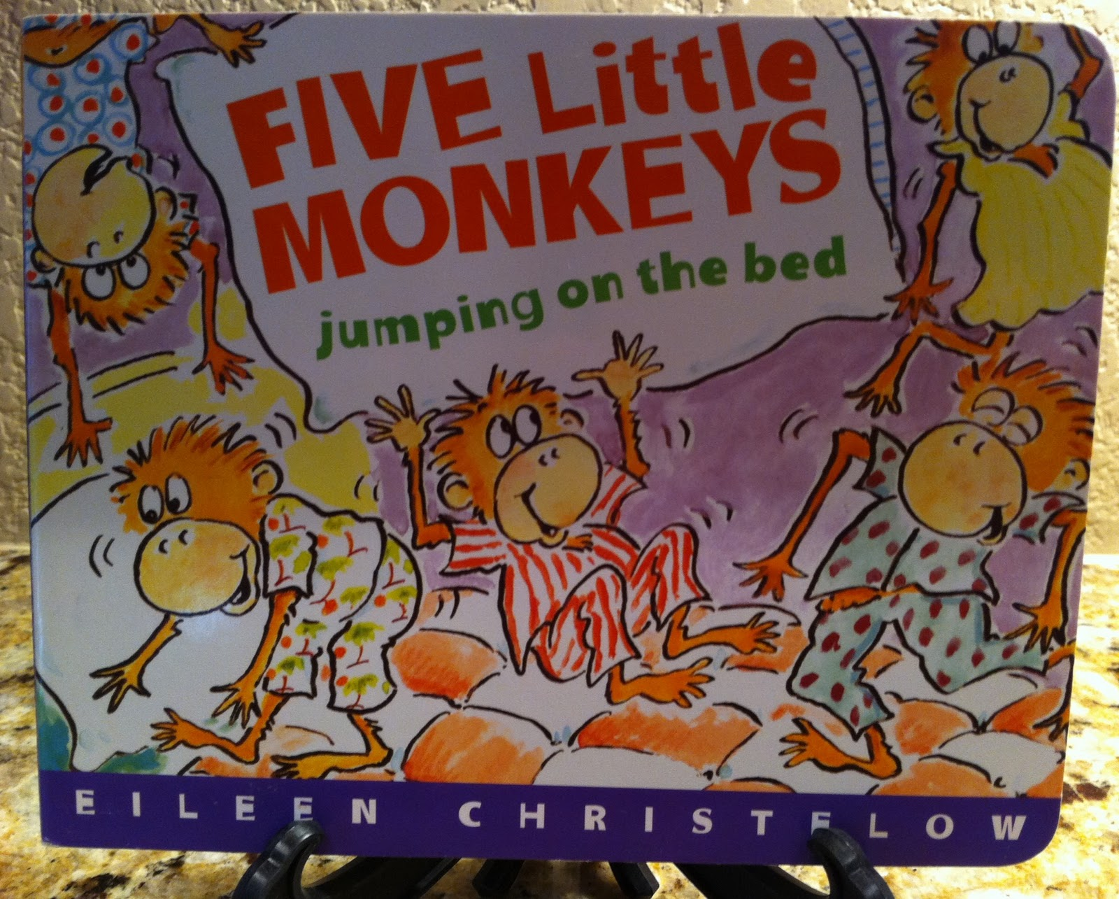 5 little monkeys jumping on the bed rhyme gallery image and stacy s jensen perfect picture books five little monkeys amipublicfo Image collections