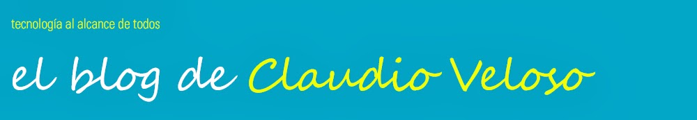 El blog de Claudio Veloso