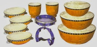 4 Traditional Musical Instruments of Riau