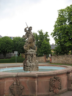 Fountain on the fortification