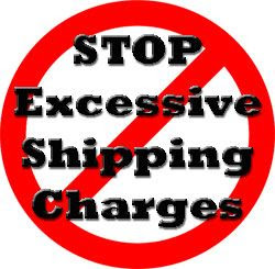 Say No to these Shipping Charges