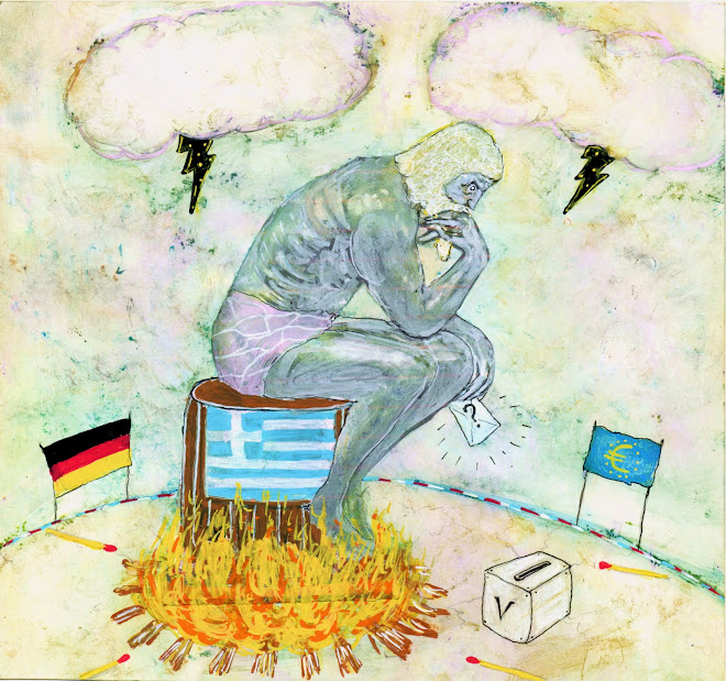 illustration pour le journal le monde daté du 6 juillet 2015, page débats