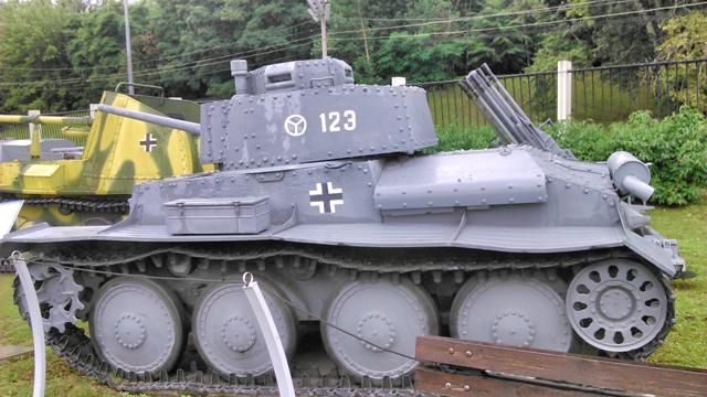 Panzer 38(t) o Pzkpfw 38(t)