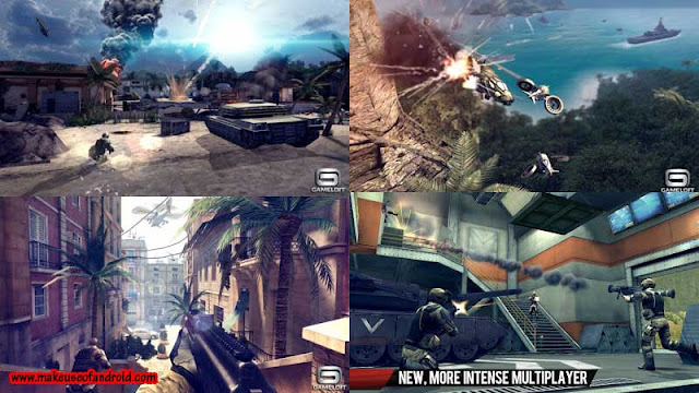Modern Combat 4: Zero Hour 1.1.0 apk with Data