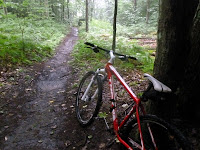 Mountain biking at SMB, somewhere on Bakckstretch.  The Saratoga Skier and Hiker, first-hand accounts of adventures in the Adirondacks and beyond, and Gore Mountain ski blog.