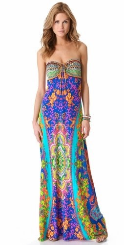 Drawstring Cover Up Maxi Dress