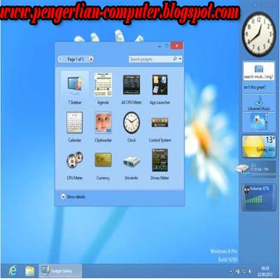 Gadget Keren Windows 8