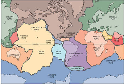 Radaractive: Plate Tectonics explained, and Darwinists stuck on ...