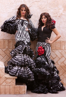 trajes de sevillana 2011
