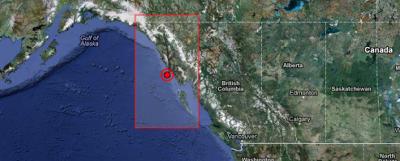 Terremoto de 6.0 grados golpeó Alaska, el 31 de enero 2013
