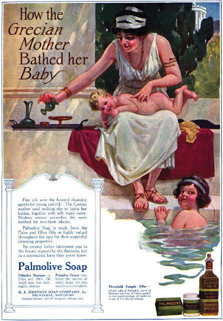Old Ads Are Funny 1915 Ad Palmolive Soap