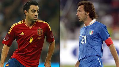 España vs Italia