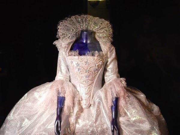 Fairy Godmother Cinderella gown detail