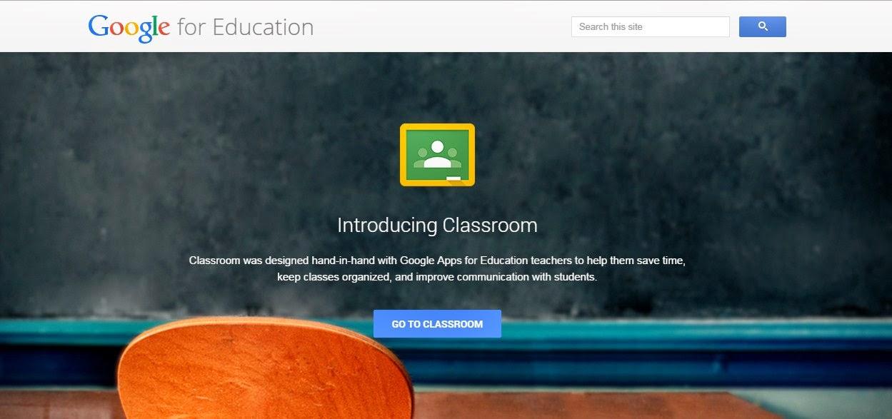 Tampilan Awal Google Classroom