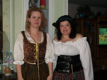 Sara and Shawna (L-R) go to Ren-Faire