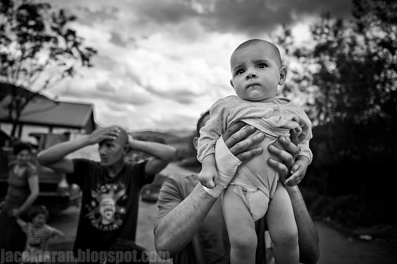 Romowie, cyganie, poludniowa polska, fotoreportaz, portret, zdjecia, cygan, rom, polska, bergitka, cyganie gorscy, wioska cyganska, osada