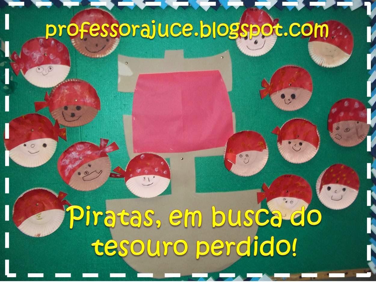 Conhecido Professora Juce: Projeto: Piratas - para Educação Infantil XN15
