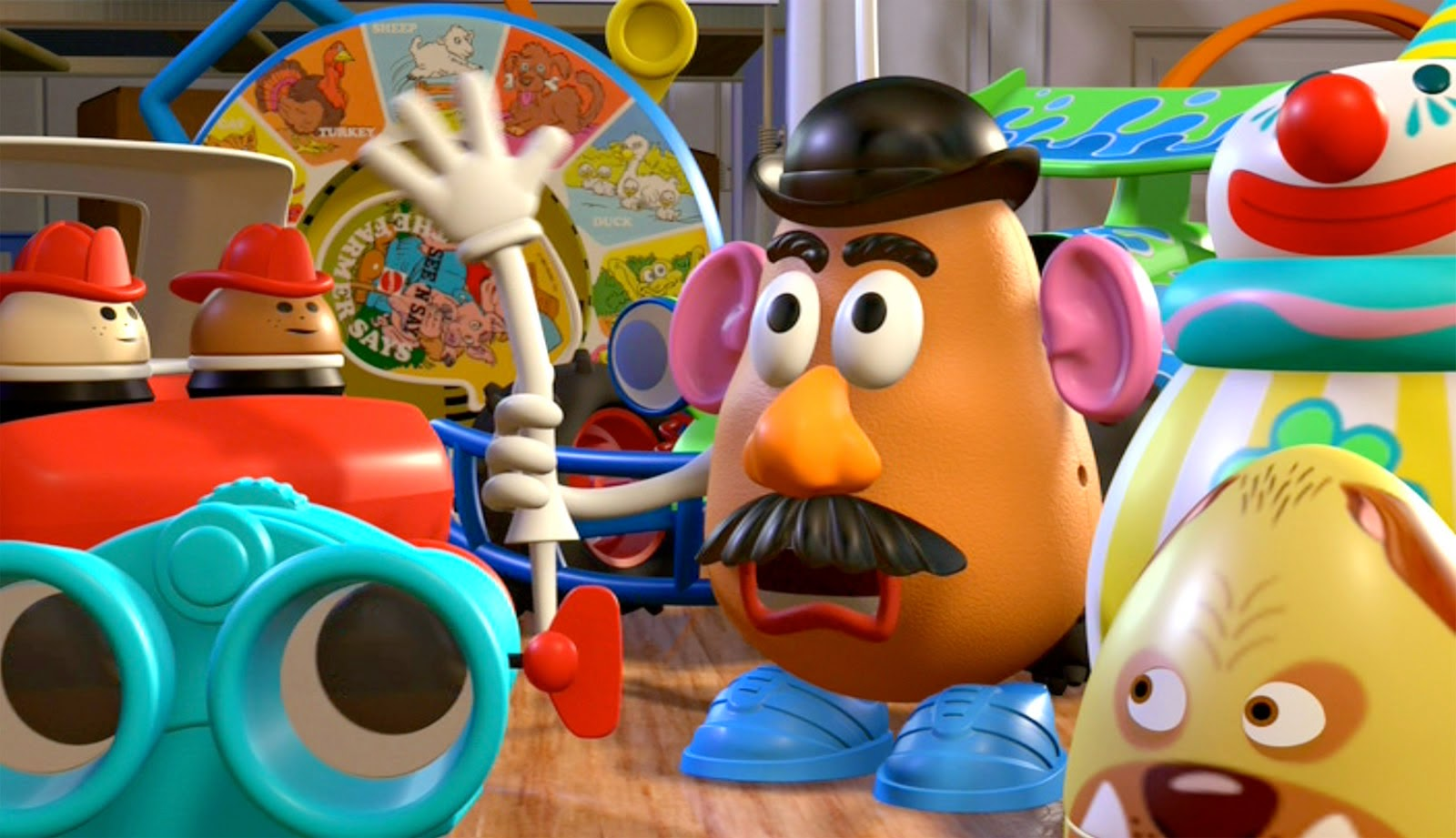 Mr. Potato en Toy Story de PIxar