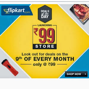 Flipkart Rs. 99 or Below Store Sale
