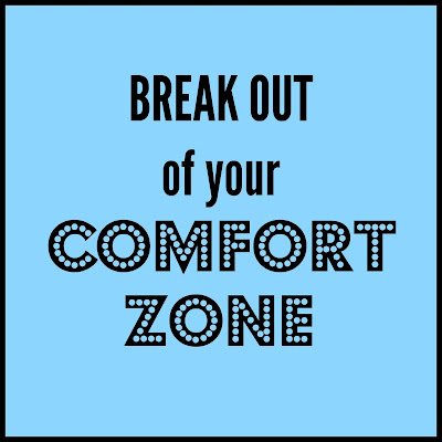 Break Out of Your Comfort Zone - lessons learned