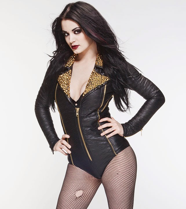 "The ""Glampire"" WWE Diva Paige"