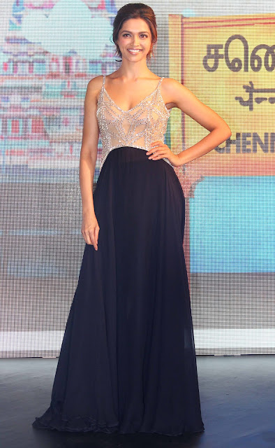 Deepika Padukone at the music launch of 'Chennai Express