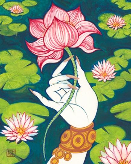 Lotus Flower Art Lotus Flower ar...