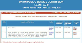 UPSC Exam Stores Officer in DRDO
