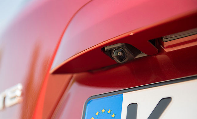 2014 Nissan Note rear camera