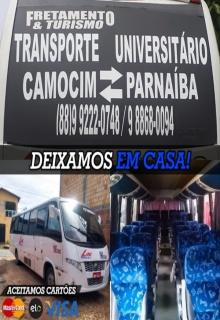 TRANSPORTE UNIVERSITÁRIO CAMOCIM/PARNAÍBA