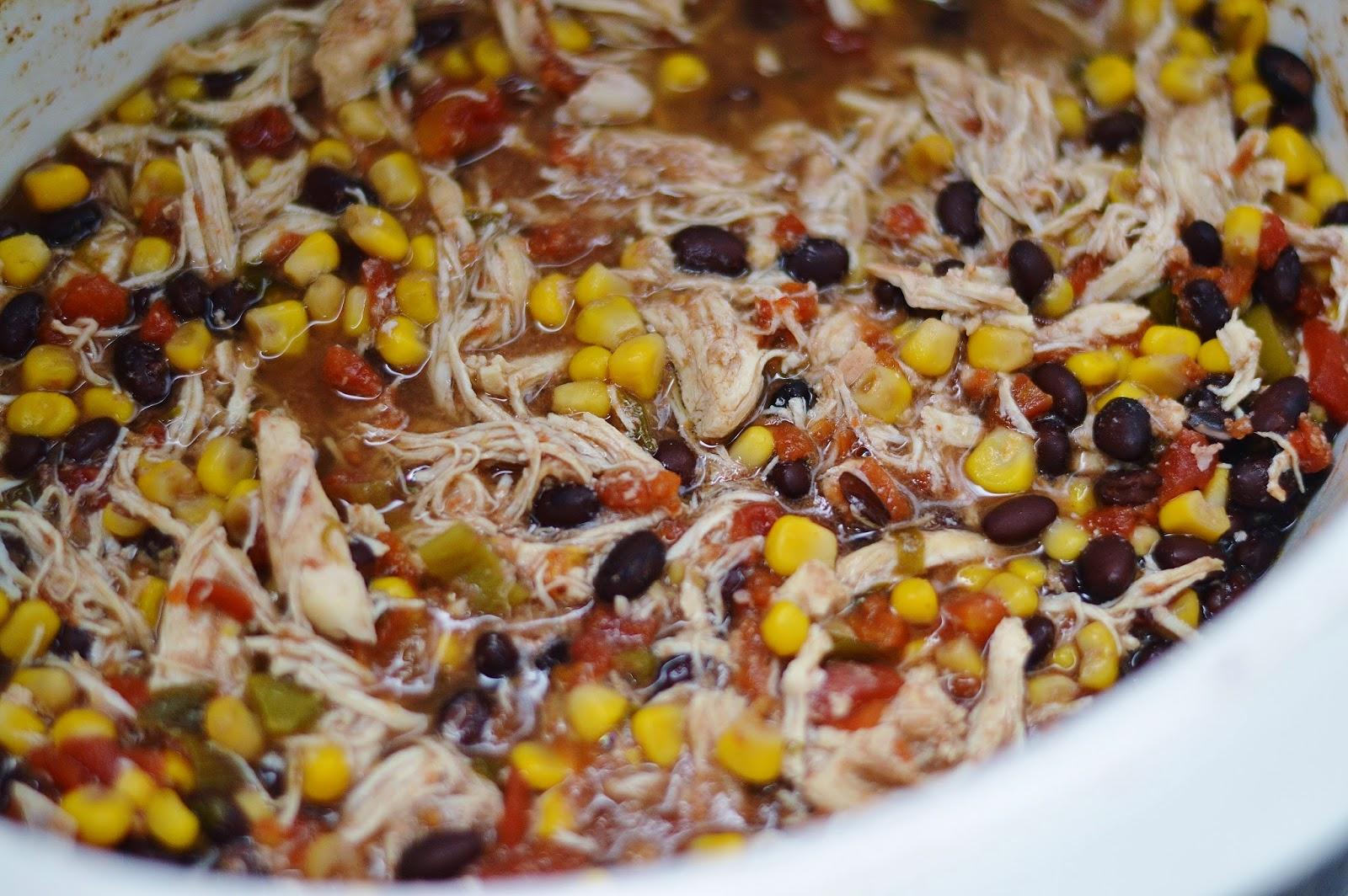 The Art of Comfort Baking: Crock Pot Santa Fe Chicken