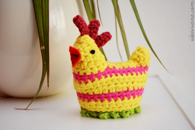 Idea Ivana Easter Crochet Chick Egg Cosy