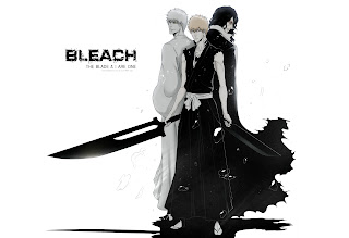Ichigo Kurosaki New Zanpakuto Zangetsu Inner Hollow Anime Dual Sword Bleach HD Wallpaper Desktop PC Background