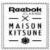 .@Reebok Classic x Maison Kitsuné