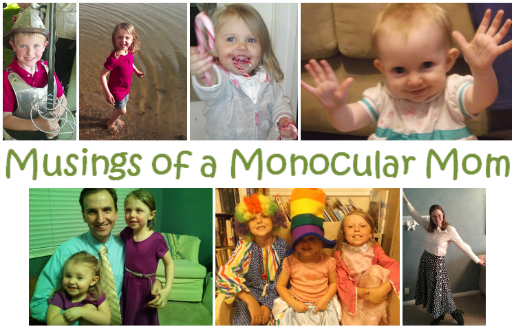 Musings of a Monocular Mom