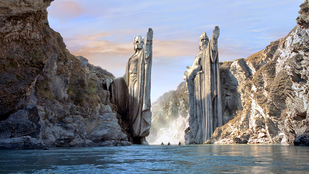 Argonath El señor de los anillos