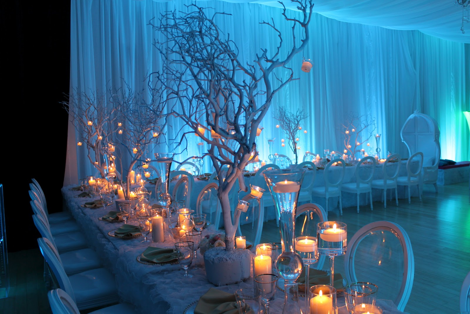 Winter Wonderland Wedding Decoration Ideas