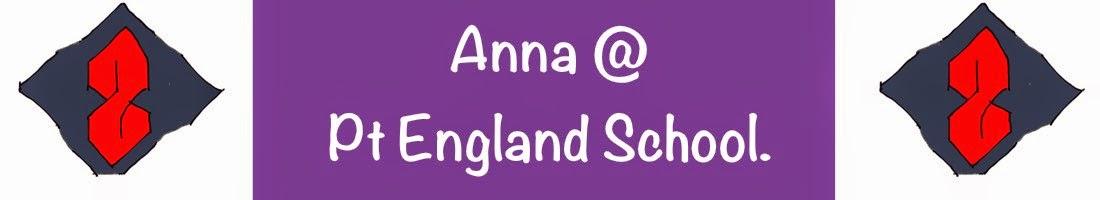 Anna @ Pt England School