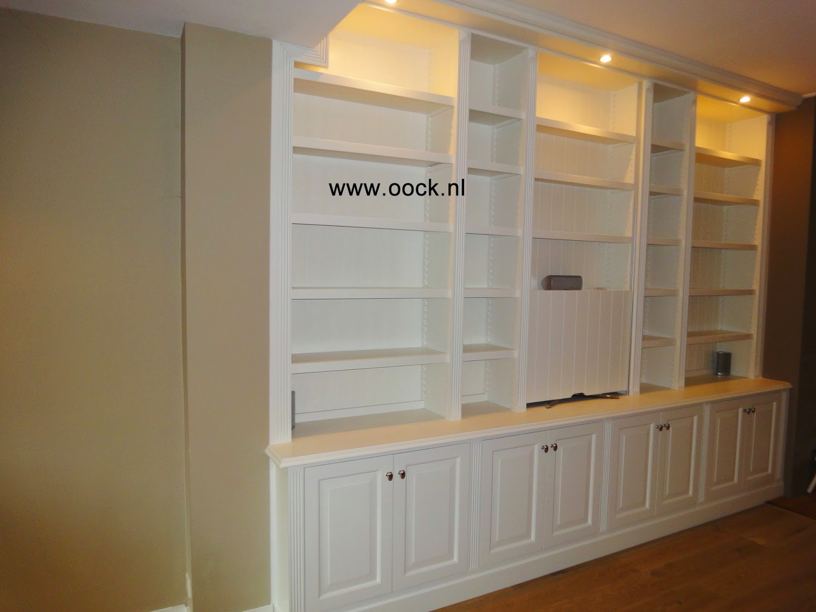 inspirations bookcase built full home image in made slab furniture live custom of size desk rustic edge oak frightening bookcases