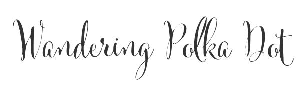 Wandering Polka Dot