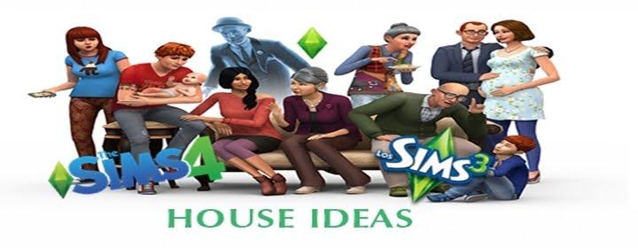 Sims 3 4 house ideas casa moderna 1 sims 4 entrada y for Casa moderna sims 3 sin expansiones