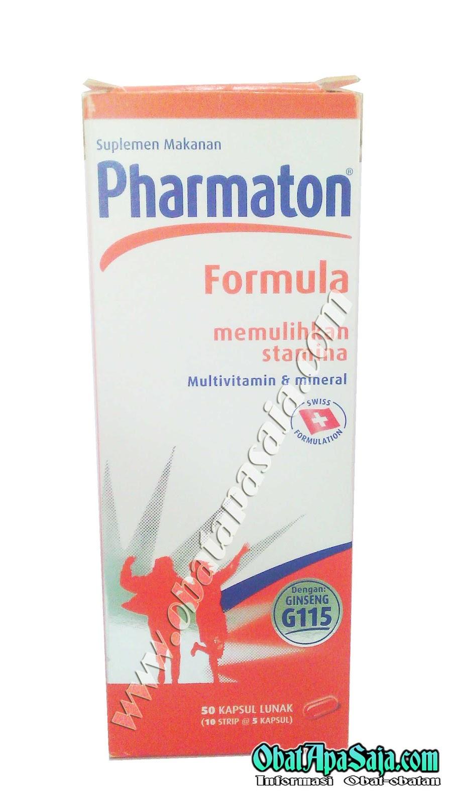 Pharmaton formula