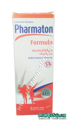 Pharmaton Formula Komposisi Dosis dan Harga
