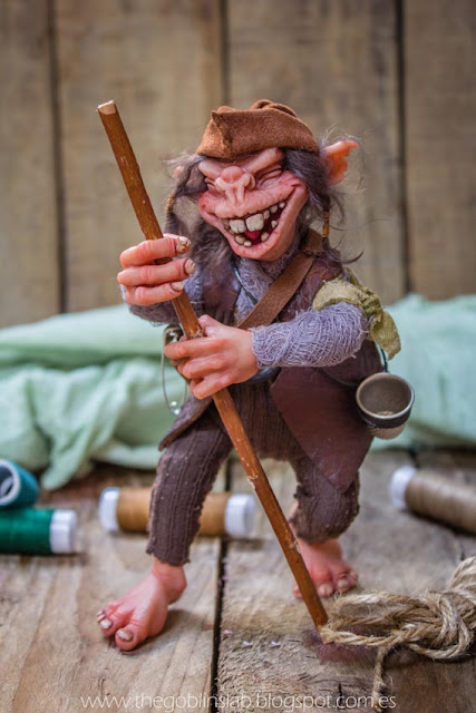 house elf ooak fantasy creature