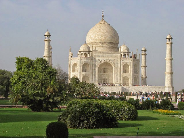 The Taj Mahal of Agra