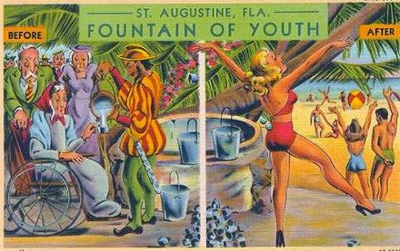 Vintage postcard, St. Augustine, Fla.