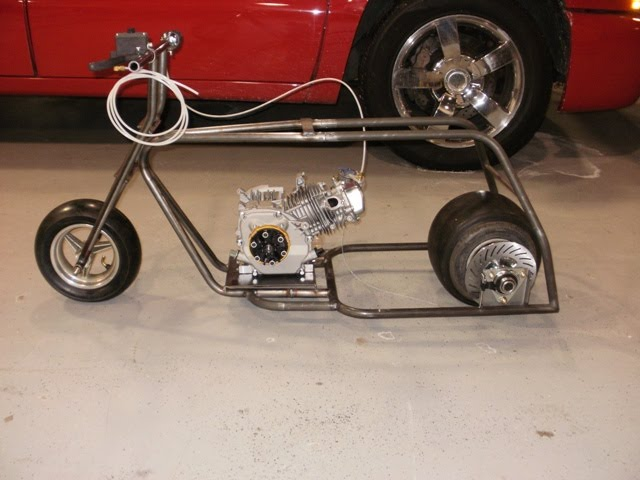 Gymi S Garage Mini Bike Drag Racing